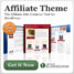 WordPress Affiliate Theme : The Easy Button For Affiliate Marketing